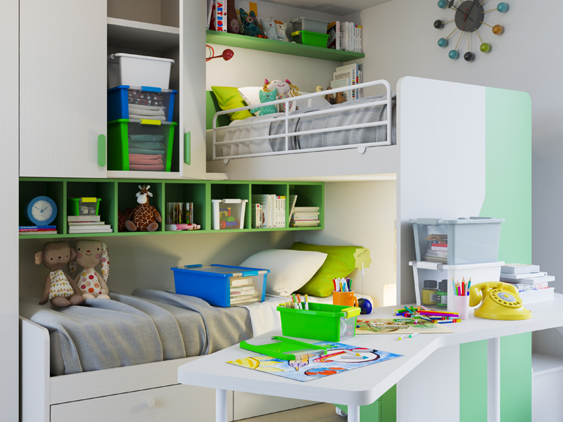 Kis So ist das Kinderzimmer Ihrer Tochter immer aufgeräumt | gallery 7