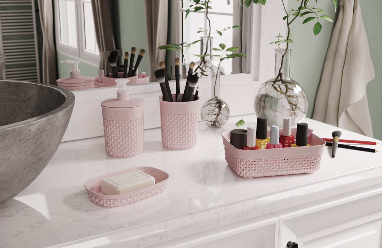 Jump in the art of organizing your bathroom