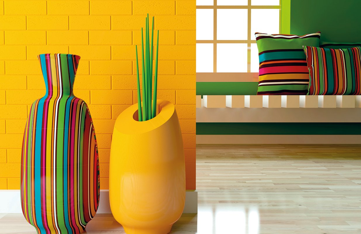 A Home full of Colours!