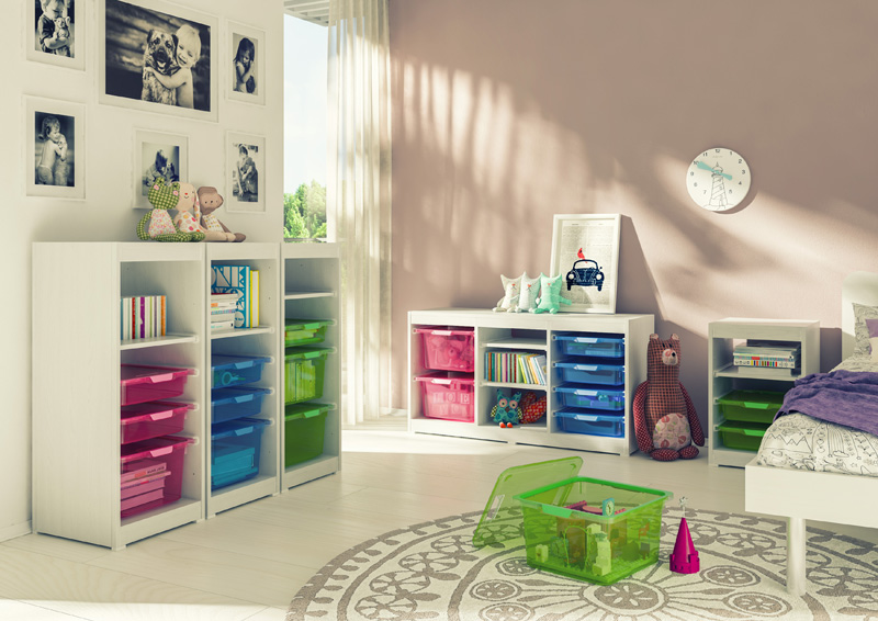 Kis Comment organiser la chambre d'une fillette | gallery 9