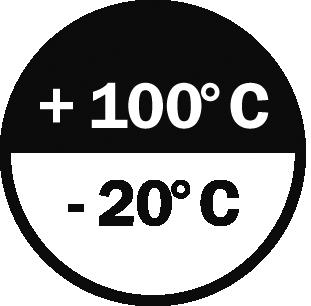 -20°/+100° C
