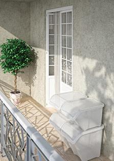 Kis Gallery Balkon/Terrasse