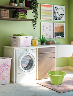 Kis Gallery Laundry room